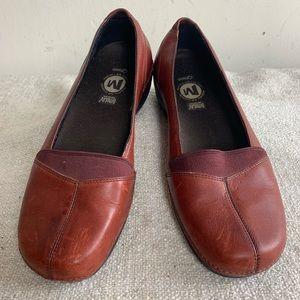 Merrell Apure Leather Ortholite Qform Flat 7.5
